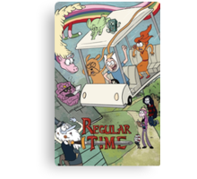 Regular Time Canvas Print