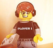 Lego Video Gamer by FendekNaughton