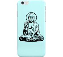 Young Buddha No.1 (black) iPhone Case/Skin