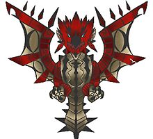 Rathalos Emblem by S4LeagueProps
