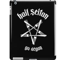 Hail Seitan 1.1 (white) iPad Case/Skin