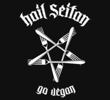 Hail Seitan 1.1 (white) Kids Clothes