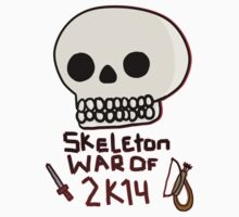 Skeleton War of 2k14 by kishii0