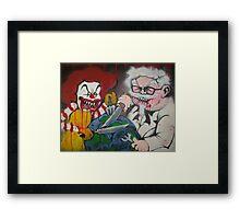 Ronald vs Colonel Framed Print
