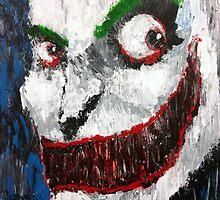 Palette Knife Joker by JacobCarder