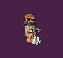 Macho Lego Man by ScottLost
