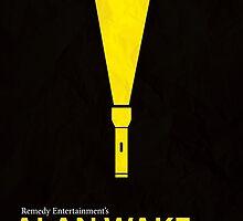 Alan Wake Minimal Poster by Jelsier