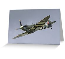 Spitfire MH 434 - Dunsfold 2014 Greeting Card