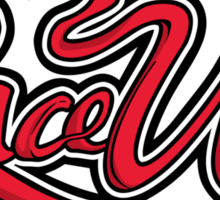 Lace Up Sticker