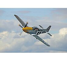 P51 Mustang Ferocious Frankie - Dunsfold 2014 Photographic Print