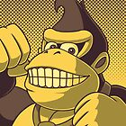 Donkey Kong Portrait by RedFlare