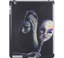 The Mask She Hides Behind iPad Case/Skin