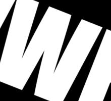 WWBD !? Sticker
