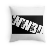 WWBD Throw Pillow