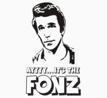 The Fonz - AAAYYYY - Happy Days by lcfcworld