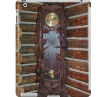 Grandfather Clock with a Difference iPad Case/Skin