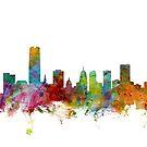 Oklahoma City Skyline by Michael Tompsett