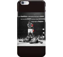 Muhammad Ali Quote iPhone Case/Skin