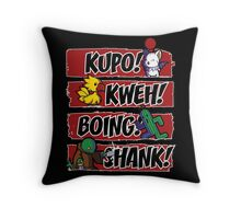 What Does the Tonberry Say? Throw Pillow