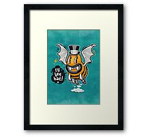 Cartoon Monster I'll Bee Bat Framed Print