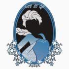 """Let it go"" Sticker by Nados"