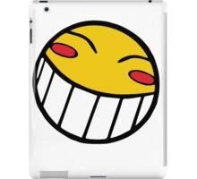 Cowboy Bebop Radical Ed Smiley Face iPad Case/Skin
