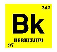 Berkelium Photographic Print