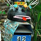 A Weird Mailbox :) by Penny Smith