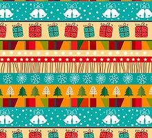 Merry Christmas seamless pattern by smotrivnebo