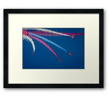 Red Arrows 1,2,3,  Framed Print