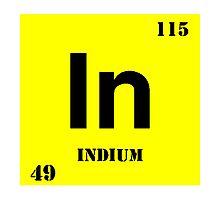 Indium Photographic Print