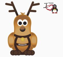 Christmas Penguin - Prancer by jimcwood