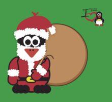 Christmas Penguin - Father Christmas Kids Clothes