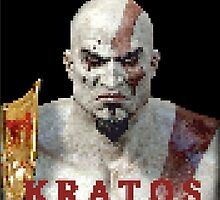 Kratos 8-Bit  by KidNamedKarm