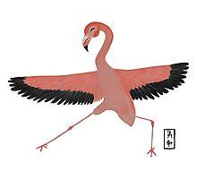 Flamingo Zenimal Photographic Print
