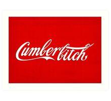 Cumberbitch Art Print