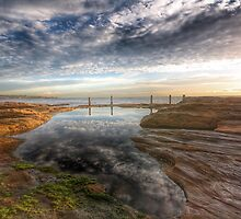 rockpool at South Coogee by derek blackham