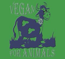 VEGAN FOR ANIMALS Kids Clothes
