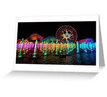 The Wonderful World of Color Greeting Card