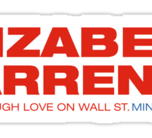 Elizabeth Warren For President Sticker