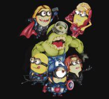 Cute caricature parody comics superheroes Group Kids Clothes