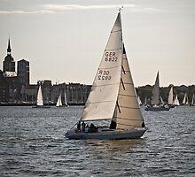 Stralsund, Mecklenburg Western Pomerania, Germany. by David A. L. Davies