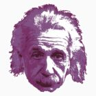 Albert Einstein - Theoretical Physicist - Pink by graphix