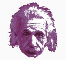 Albert Einstein - Theoretical Physicist - Pink T-Shirt
