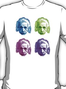 Albert Einstein - Theoretical Physicist - Rainbow T-Shirt