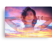 Jhene Aiko Sunset Seas Canvas Print