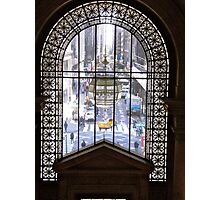 Window in the New York Public Library, NY Photographic Print