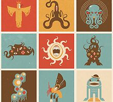 The Lovecraftian Squares by Christopher N