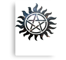 Supernatural Galaxy  Metal Print