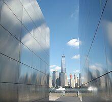 "9/11 Memorial, ""Empty Sky"", New World Trade Center, Liberty State Park, Jersey City  by lenspiro"
